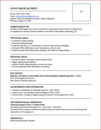 New Updated Resume Format Resume Pdf