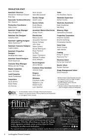 Elan Lighting Rep Wisconsin Blood Wedding Program Pages 1 28 Text Version Fliphtml5