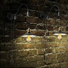 cheap industrial lighting. Cheap Industrial Lighting Pulley Shaped Adjustable Wall Sconce N