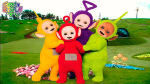 Orange Blue Green Teletubbies Colors Pink Blue Green Purple Red Orange Yellow Black Brown White