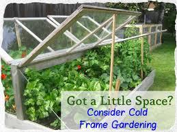 cold frame gardening. Simple Gardening Consider Cold Frame Gardening For