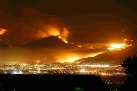 It is currently listed at 0.5 hectares in size. Kelowna Fire 2003 Photos Diagrams Topos Summitpost