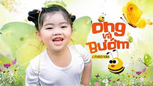 Ong Và Bướm ♪ Bé Thảo Vân   Bé Gạo [MV Official] ☀ Ca Nhạc Thiếu Nhi Cho Bé  Hay Nhất 2021 - YouTube