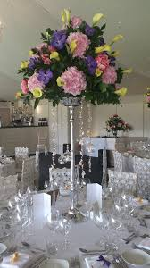 wedding centrepiece hire crystal chandelier fl wedding centrepiece glitzy and glamorous wedding table decorations summer style wedding table decor