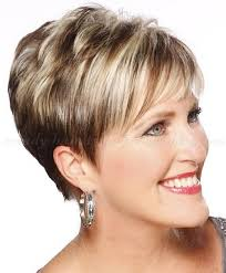 short hairstyle over 50