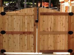 wooden gate posts