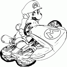 Coloring Pages Mario Kart Coloring Pages Super Coloringstar Toad
