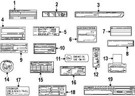 parts com® lexus gs350 radiator support oem parts diagrams 2013 lexus gs350 f sport v6 3 5 liter gas radiator support