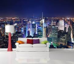 New York Bedroom Wallpaper New York At Night Bedroom Wallpaper Best Bedroom Ideas 2017