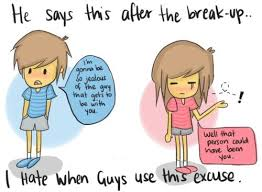 Bullshit Breakup lines | Funny Quotes about Breakups, Ex ... via Relatably.com