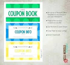 How To Make A Coupon Booklet Mwb Online Co