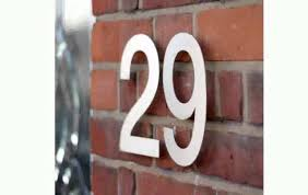 Decorative House Numbers House Numbers Contemporary Youtube