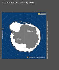 antarctic ice sheet growing arctic sea ice news and analysis sea ice data updated daily with