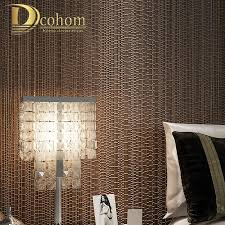 Moderne Luxus Beige Blau Braun Strukturierte Plaid Wallpaper Für