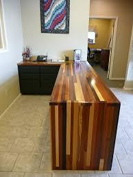 Counter Top Desks Brick A Brack Wood Countertop Photo Gallery By Devos Custom