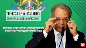 Resultado de imagem para Ministro Paulo Guedes