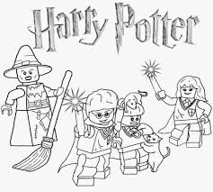 Small Picture Lego Harry Potter Coloring Pages qlyviewcom