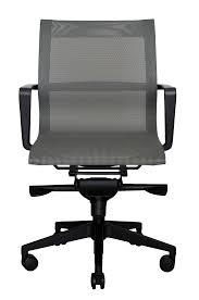 bradley mesh lowback chair grey wobi office front wood grain foam mats wheelchair wheels lumbar support