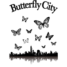 Butterfly City 蝶ロック音楽rockギターバンドパンクt