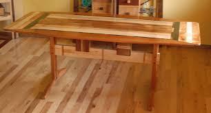 Custom Made Dining Room Furniture Custom Made Trestle Dining Room Table In Koa And Spanish Cedar By