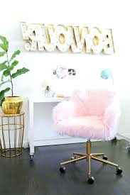 desk chairs black fuzzy desk chair pink fur inspiration ideas pertaining to size 850 x 1278