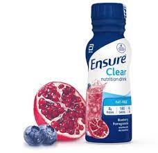 ensure clear nutrition blueberry