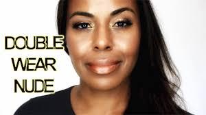 estée lauder double wear water fresh makeup 6w1 swatch review video i bybare