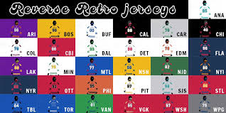 For the best philadelphia flyers hockey jerseys, consider us your experts. A Preview Of Every Nhl Team S Reverse Retro Jersey
