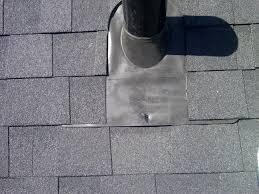 plumbing roof vent. Proper Plumbing Boot Install Roof Vent E