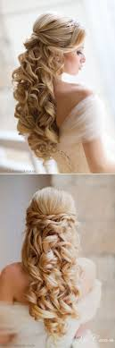 Wedding Half Up Hairstyles 25 Best Ideas About Loose Curls Updo On Pinterest Loose Curly