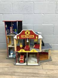 deluxe fire rescue set kidkraft station