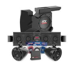sound system for bar. picture of polaris rzr bluetooth overhead audio sound bar, 2-channel amplifier, 2 system for bar
