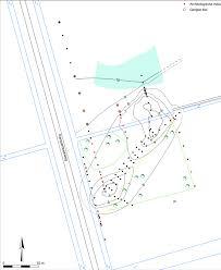 Figuur 2 4 resultaten booronderzoek boringen met archeologische indicator rode stip en