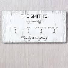 personalised key hooks find me a gift