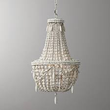 white wash wood beaded chandelier antique farmhouse for brilliant