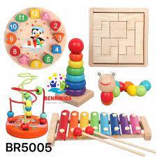 Đồ Chơi Gỗ Cho Trẻ Em, Bộ Đồ Chơi Gỗ Thông Minh Được Sản Xuất Tại Xưởng  Theo Phương Pháp Montessori Cho Bé Từ 1 Tuổi Phát Triển Trí Tuệ