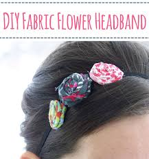 how to make headband fabric flowers healthy
