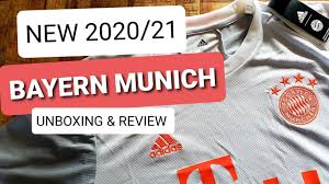 Joining the home and away shirts for the 20/21 season, adidas reveal the new bayern munich third shirt, with a design that draws inspiration from the red glowing diamond pattern featured in the allianz arena's outer shell. New Bayern Munich Jersey 2020 21 Away Jersey Unboxing Review Youtube