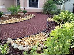 diy front yard landscaping without grass