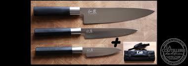 3 Couteaux De Cuisine Et La Mallette La Coutellerie Des Chefs