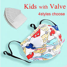 <b>KN95 Kids</b> Face Mask With Valve Dust Mask <b>Anti Pollution Children</b> ...