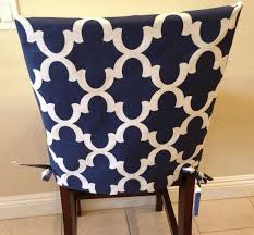 kitchen chair slipcover chair back cover dining room chair cover counter or bar stool seat back cover washable removable gray blue teal