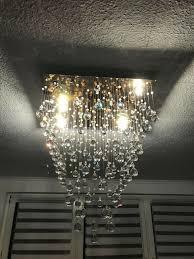 Halogen Lampe Kristall Deckenlampe Deckenleuchte Wohnzimmer
