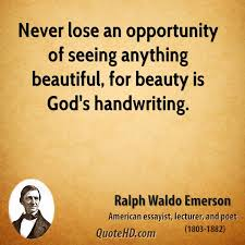 God\'s Beauty Quotes Best Of Ralph Waldo Emerson Beauty Quotes QuoteHD