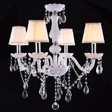 modern led white crystal chandelier ceiling light lamp for living room indoor pendant lamp for