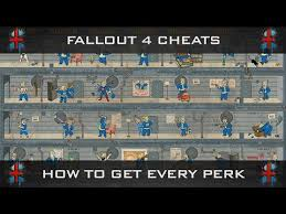 Fallout 4 Level Up Chart Fallout 4 Cheats How To Level Up Get Every Perk Within