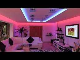 ideas to decorate your home using led strip lights