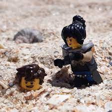 Nya and Jay at the beach 🏖 : Ninjago