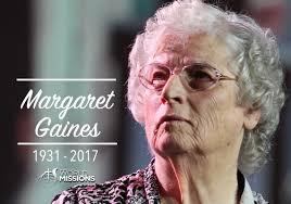 Margaret Gaines Story | HARVEST CHURCH OF GOD