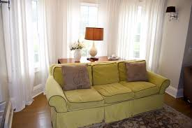 Living Room Bay Window Treatment Bay Window Treatments Blinds Central Florida Window Coverings